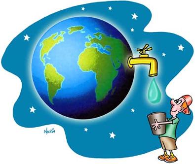 Resultado de imagem para agua no planeta